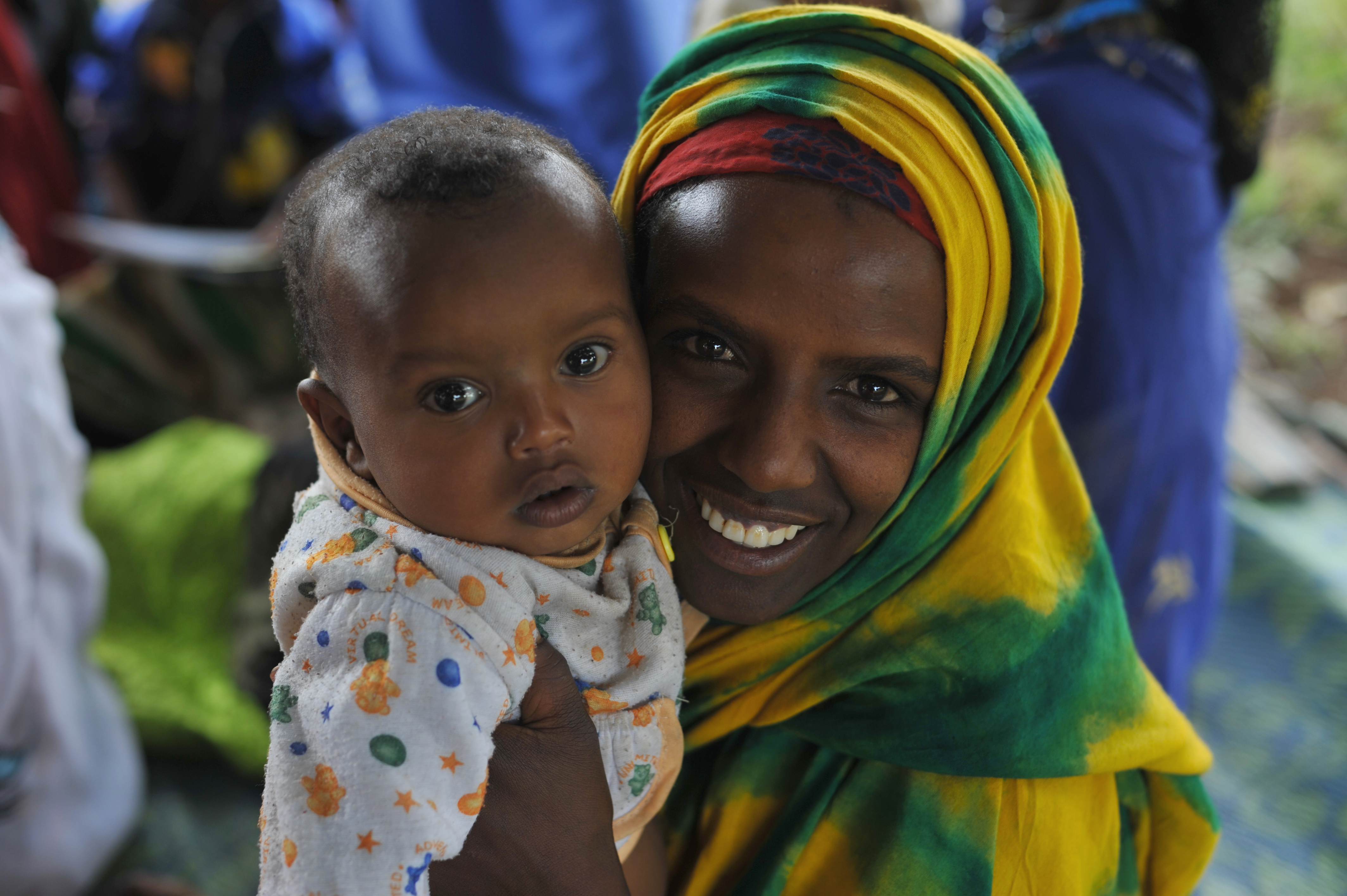 27 Mother and child, Ethiopia101